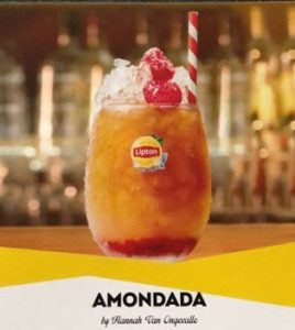 Lipton Ice Tea Amondada Mocktails