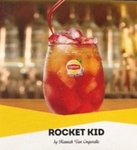 Lipton Ice Tea Rocket Kid Mocktails